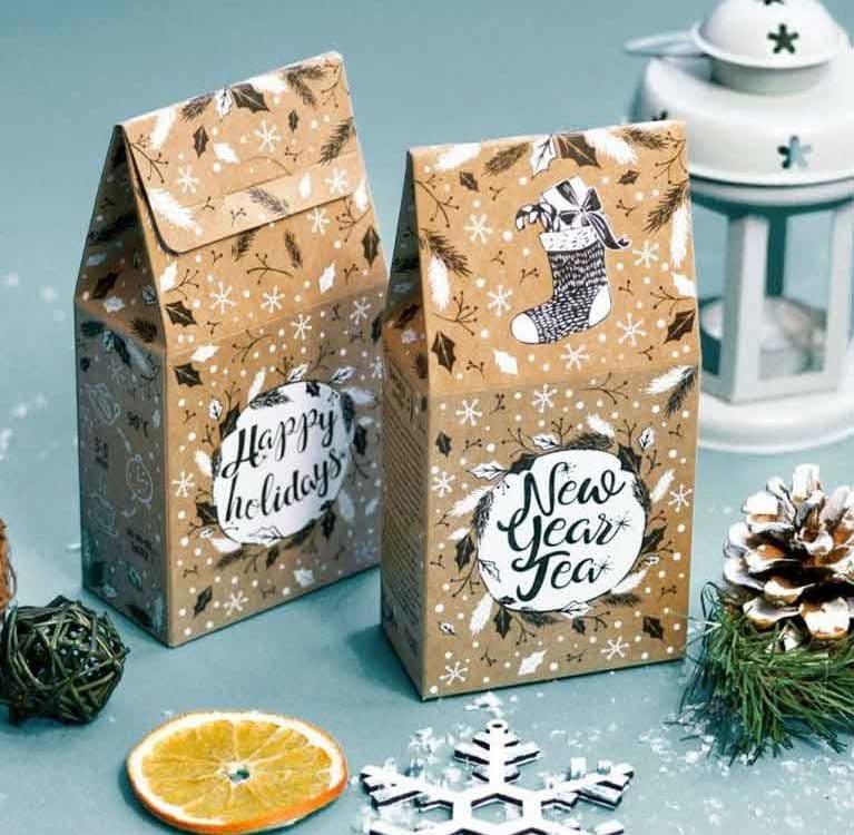 Чай в подарок на Новый Год