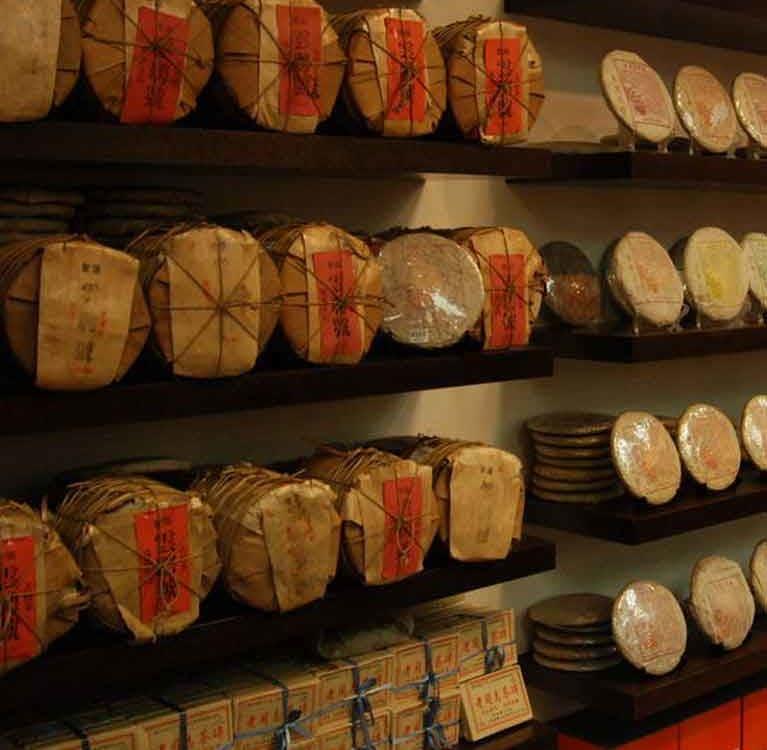 Как определить пуэр сухого хранения?