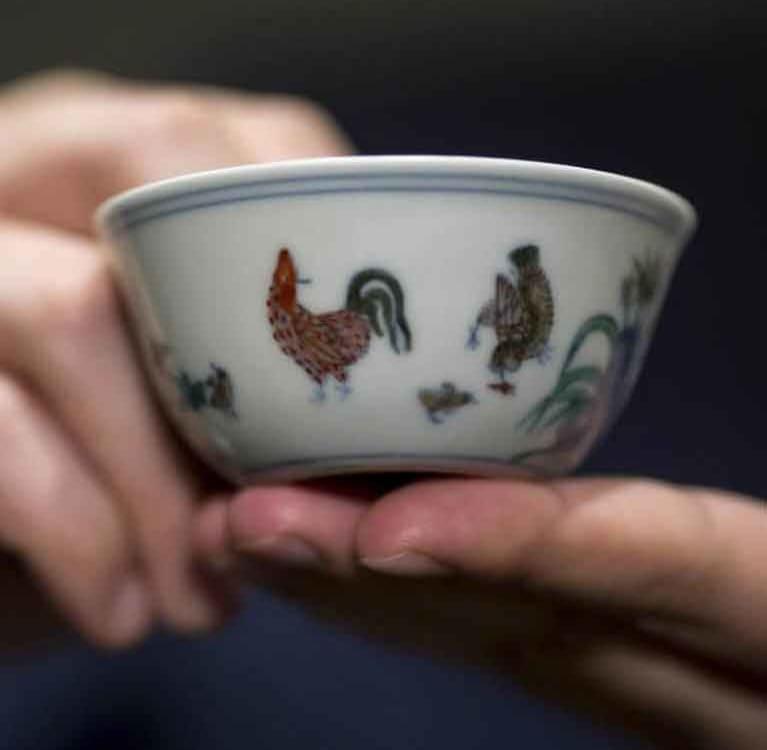 В китайском частном музее будет выставлена самая дорогая в мире чайная чашка