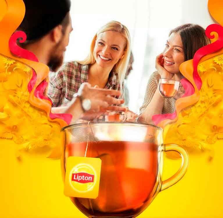 Lipton REALI-TEAS встречают праздничный стресс в этом сезоне