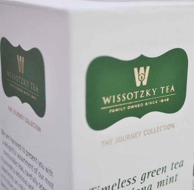 Новый дизайн чая Journey collection