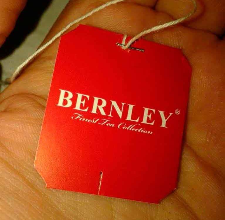 Чай Bernley – новый совместный проект