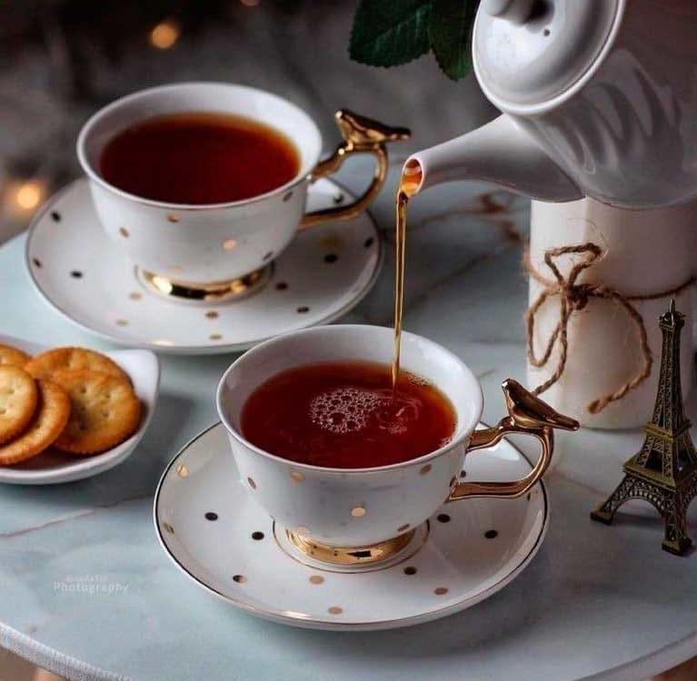 Черный чай и давление