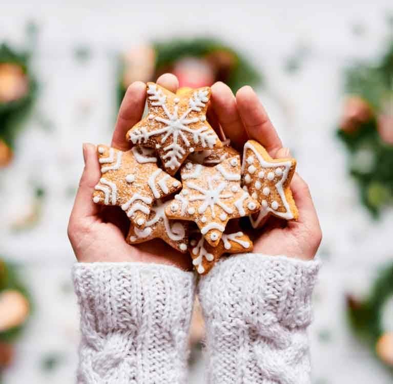 Christmas Tea infused Cookies