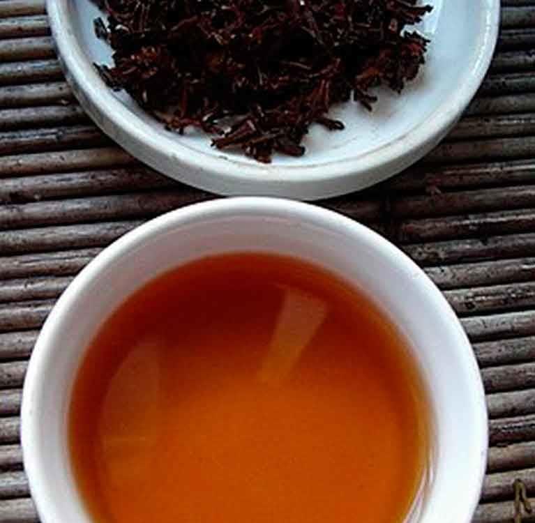Химический состав черного чая