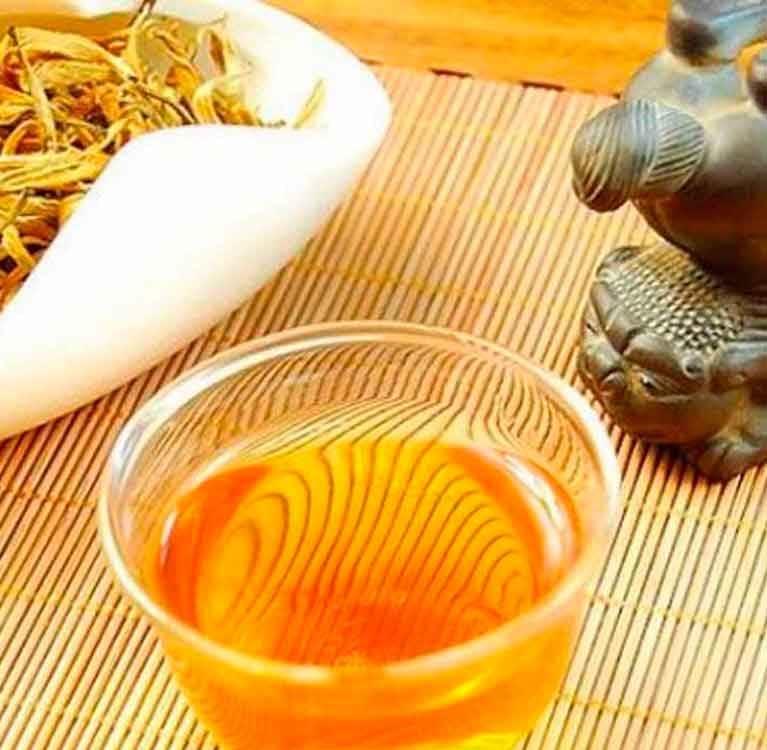 Сорта чая. Желтый чай