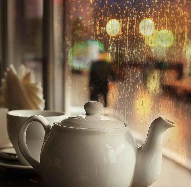 Игра вкуса чая и погода