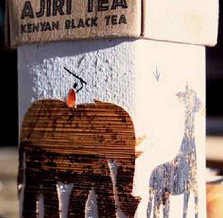 Ручная упаковка чая Ajiri