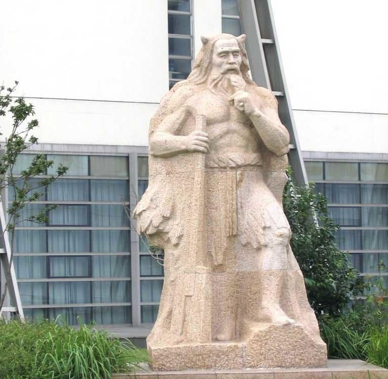 Легендарный правитель Китая Шэнь Нун (神农)