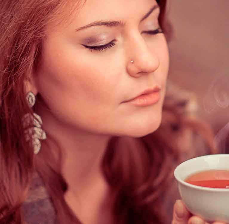 Green tea for minimum weight