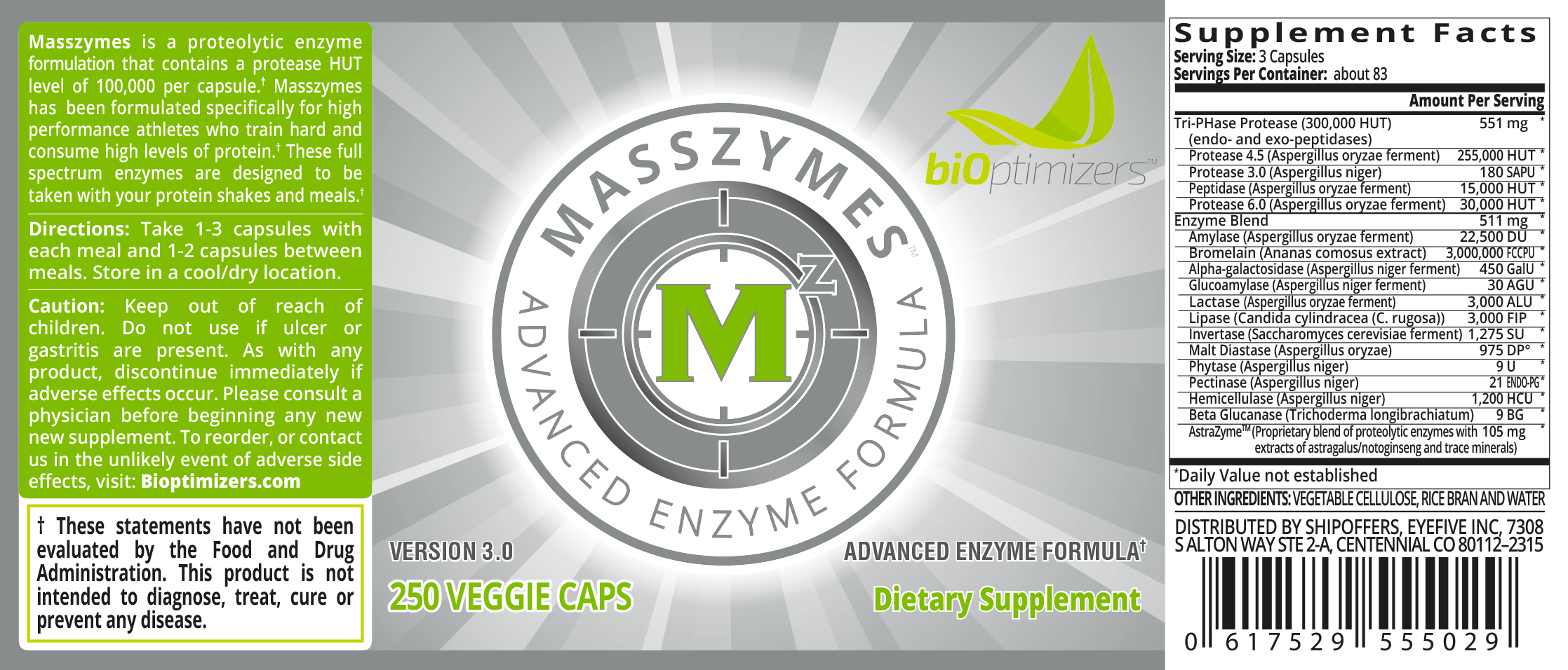 MassZymes Label