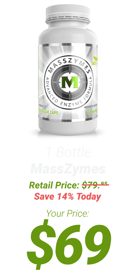 1 bottle MassZymes at $69