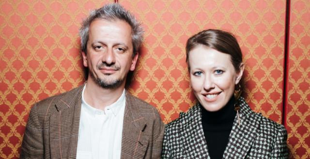 Они вместе! Ксения Собчак и Константин Богомолов на вечеринке «Кинотавра»