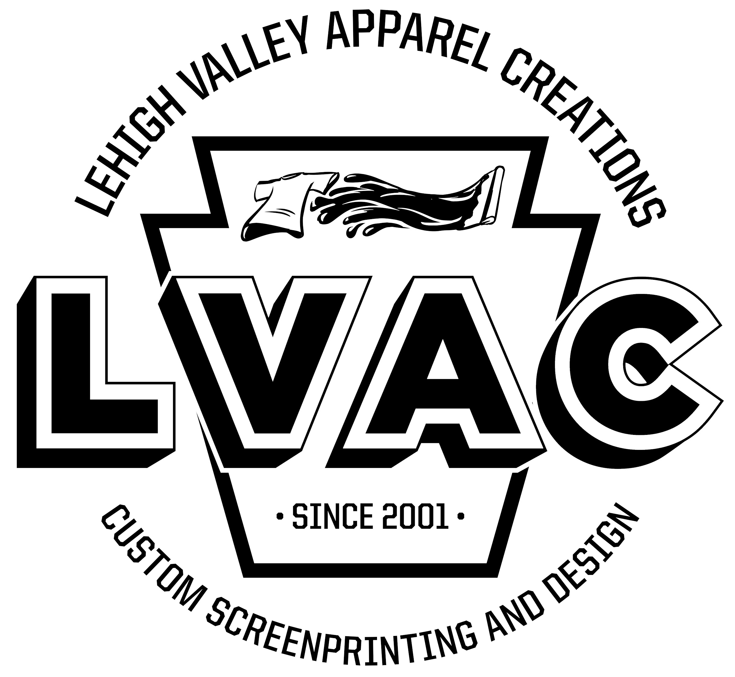 Lehigh Valley Apparel Creations logo