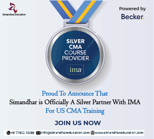 Simandhar Education is officially A Silver Partner With IMA For US CMA Training