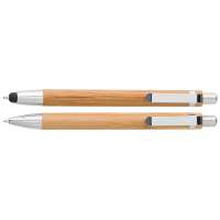 Default image for the Barron Clothing Clothing Bamboo Pen and Clutch Pencil Set