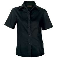 Default image for the Barron Clothing Clothing Ladies Brushed Cotton Twill Blouse Short Sleeve
