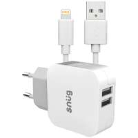 Default image for the Barron Clothing Clothing Snug Home Charger With Apple Lightning Charge and Sync Cable