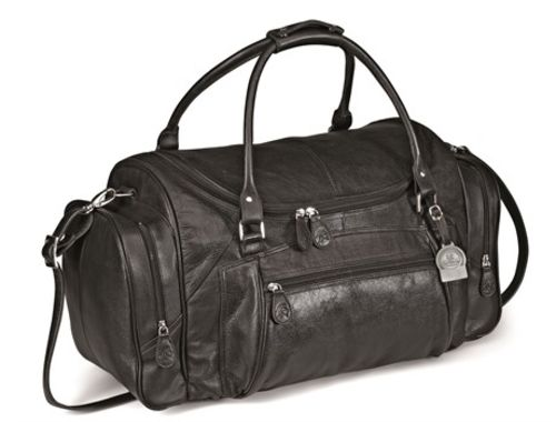 Default image for the Amrod Clothing Gary Player Elegant Leather Weekend Bag