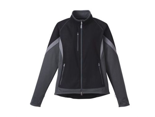 Default image for the Amrod Clothing Ladies Jozani Hybrid Softshell Jacket