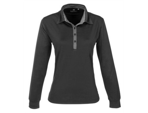 Default image for the Amrod Clothing Ladies Long Sleeve Pensacola Golf Shirt