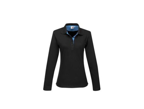 Default image for the Amrod Clothing Ladies Long Sleeve Solo Golf Shirt