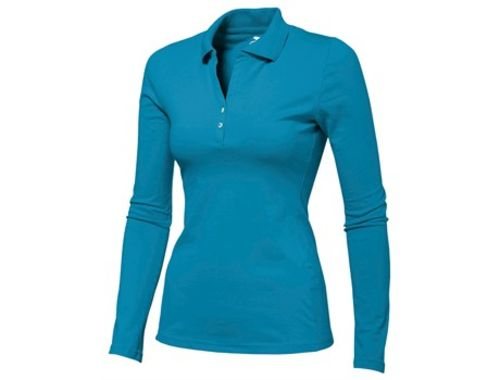 Default image for the Amrod Clothing Ladies Long Sleeve Zenith Golf Shirt
