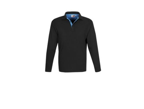 Default image for the Amrod Clothing Mens Long Sleeve Solo Golf Shirt