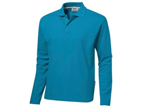 Default image for the Amrod Clothing Mens Long Sleeve Zenith Golf Shirt