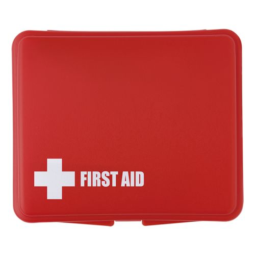 Default image for the Barron Clothing Clothing 10 Piece First Aid Kit in Plastic Box