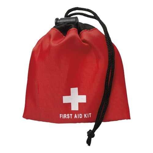 Default image for the Barron Clothing Clothing 11 Piece First Aid Kit in Drawstring Pouch