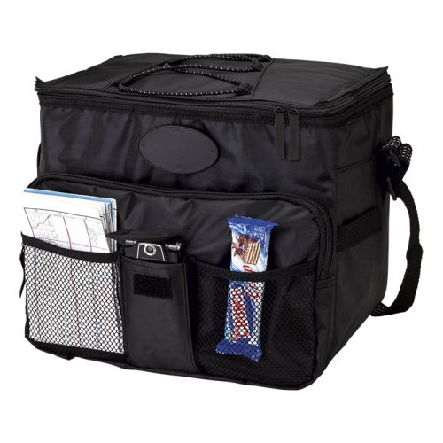 Default image for the Barron Clothing Clothing 18 Can Cooler with 2 Front Mesh Pockets
