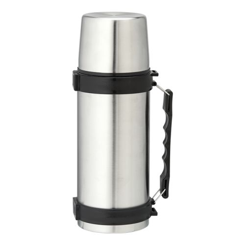Default image for the Barron Clothing Clothing 1l Stainless Steel Travel Flask with Carry Handle