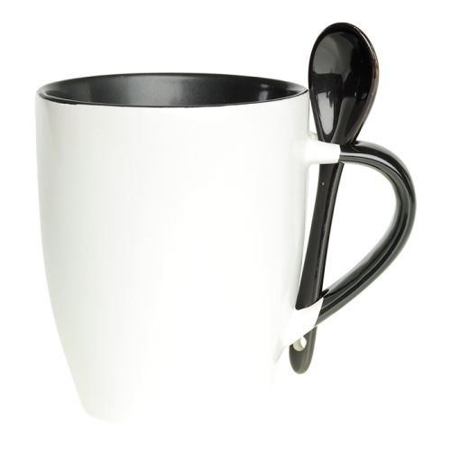 Default image for the Barron Clothing Clothing 345ml Ceramic Mug with Spoon