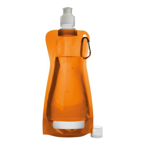 Default image for the Barron Clothing Clothing 420ml Foldable Water Bottle with Carabiner Clip