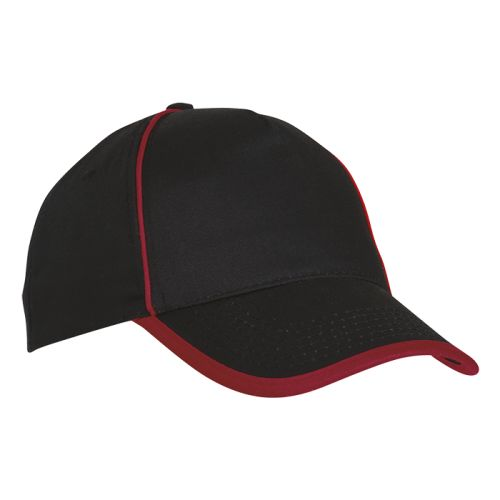 Default image for the Barron Clothing Clothing 5 Panel Cotton Contrast Piping Cap