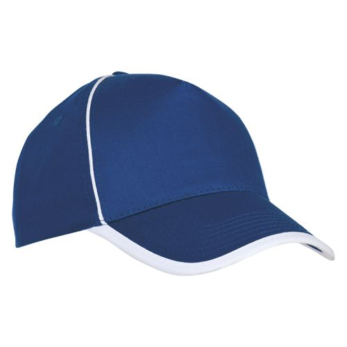 https://res.cloudinary.com/dpprkard7/c_scale,w_500/barron-clothing/5-panel-cotton-contrast-piping-cap-royal/white.jpg