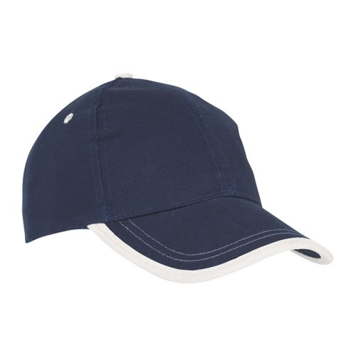 https://res.cloudinary.com/dpprkard7/c_scale,w_500/barron-clothing/6-panel-canvas-binding-cap-navy/white.jpg