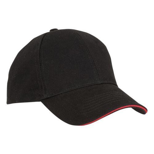 Default image for the Barron Clothing Clothing 6 Panel Sandwich Peak Cap