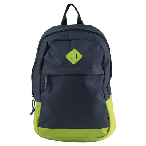 https://res.cloudinary.com/dpprkard7/c_scale,w_500/barron-clothing/600d-backpack-with-zippered-front-pocket-lime/navy.jpg