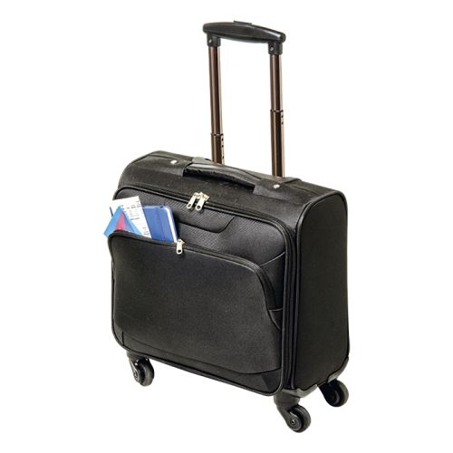 Default image for the Barron Clothing Clothing 600D Laptop Trolley Bag with Four Wheels