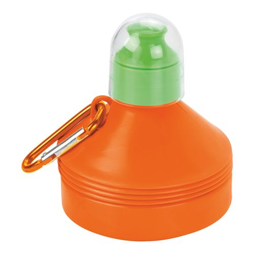Default image for the Barron Clothing Clothing 600ml Collapsible Water Bottle with Carabiner Clip