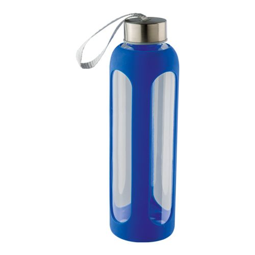 Default image for the Barron Clothing Clothing 600ml Silicone Grip Water Bottle With Carry Strap