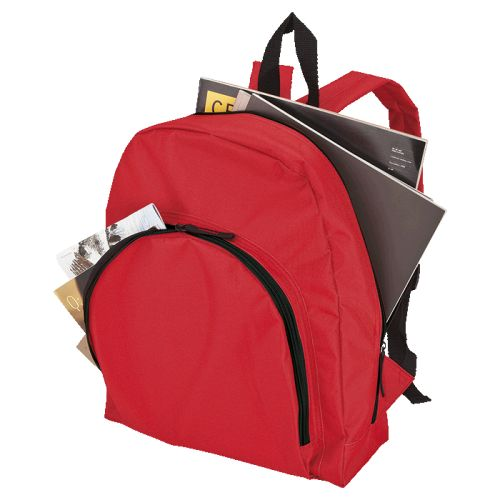 Default image for the Barron Clothing Clothing Backpack with Arched Front Pocket - 600D