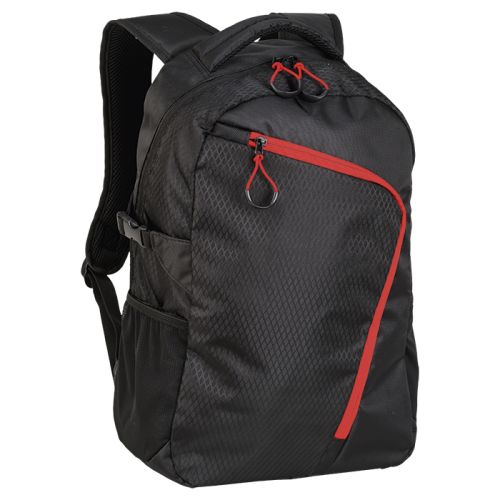 Default image for the Barron Clothing Clothing Backpack With Curved Contrast Zip