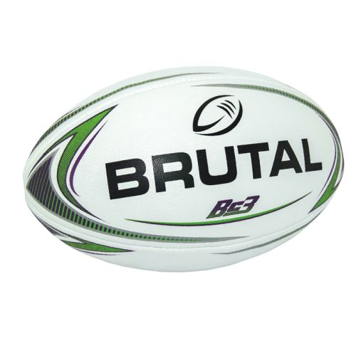 Default image for the Barron Clothing Clothing Brutal Rugby Ball - BC3 V2