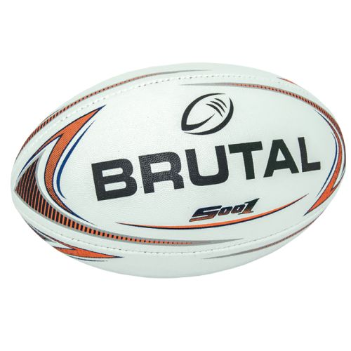 Default image for the Barron Clothing Clothing Brutal Rugby Ball - S001 V2