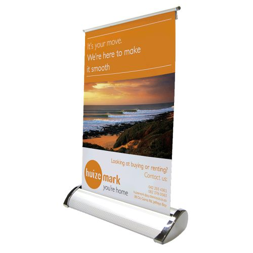 Default image for the Barron Clothing Clothing Desk Mini Pull Up Banner
