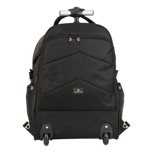 Default image for the Barron Clothing Clothing Dual Fabric Rolling Laptop Backpack