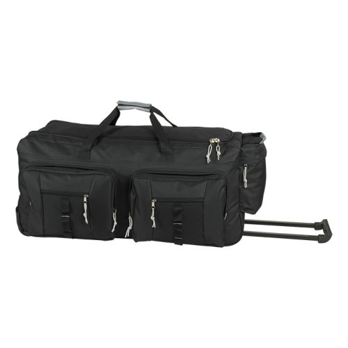 Default image for the Barron Clothing Clothing Dual Front Pocket Rolling Travel Duffel
